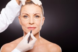 Cosmetic surgery woman shutterstock_131601398