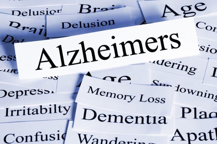 Alzheimers word cloud