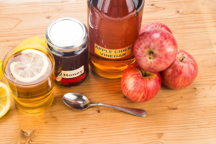 Apple cider vinegar & honey