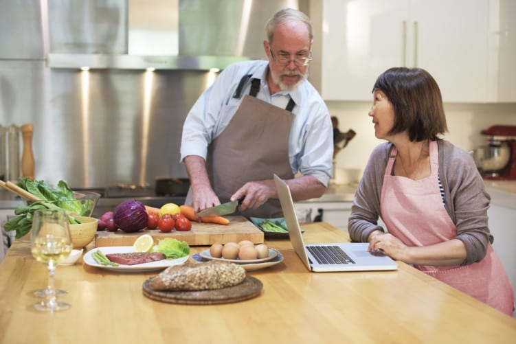 Cooking couple