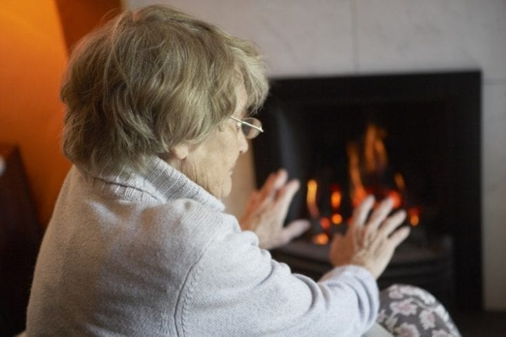 Elderly people more vulnerable in cold winters