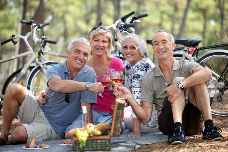 Friendship group cycling & picnic