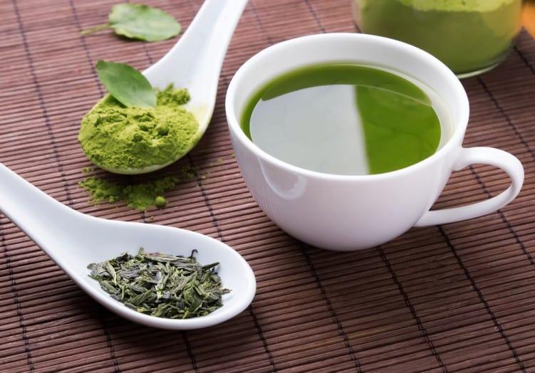 Green & matcha tea