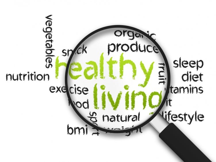 Healthy Living words