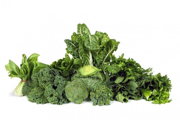 Leafy green veg