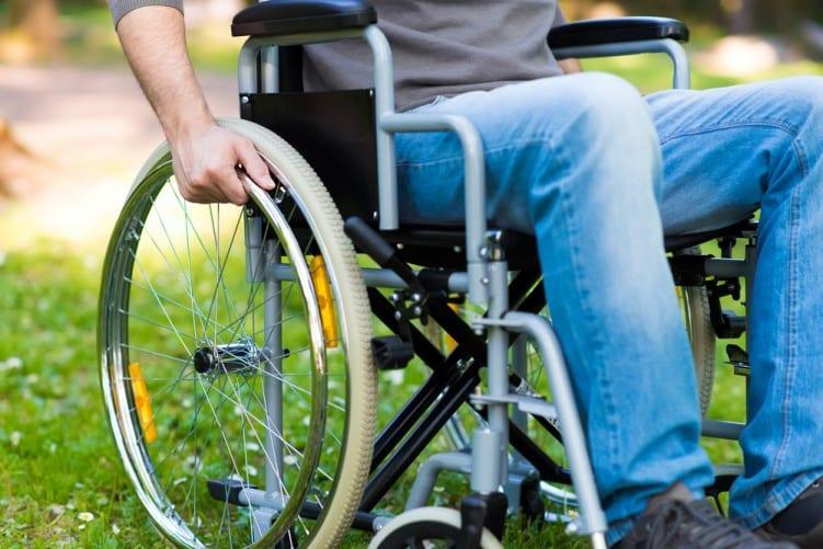 Mult Scl man Wheelchair