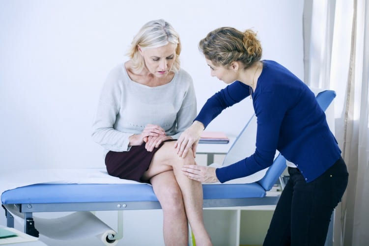 Osteoarthritis lady
