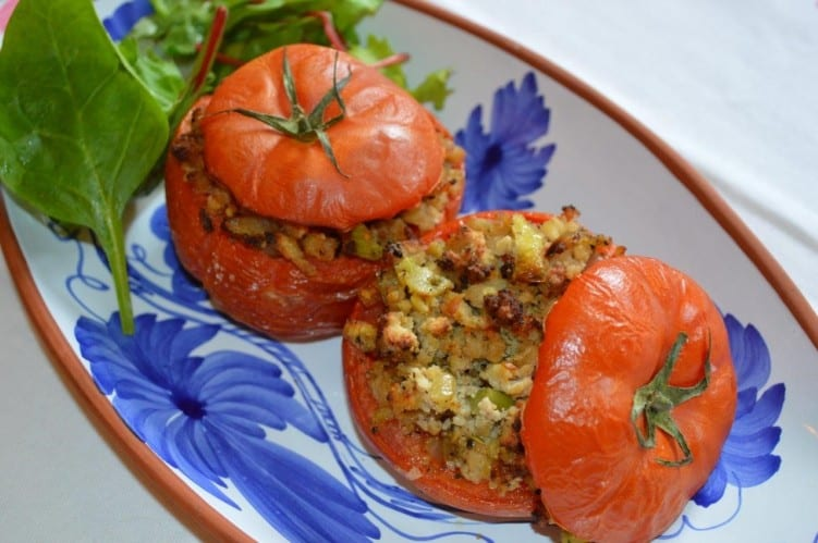 Delicious Pork Stuffed Beef Tomatoes 1