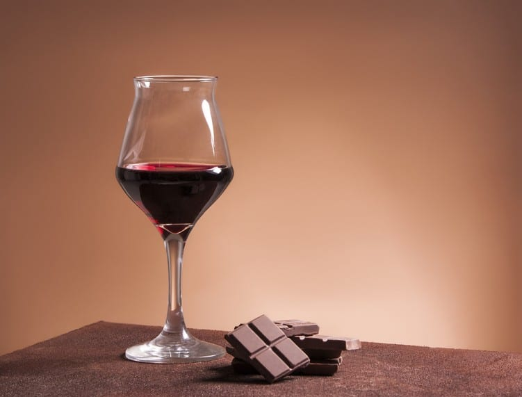 Red wine and chocolate weight loss