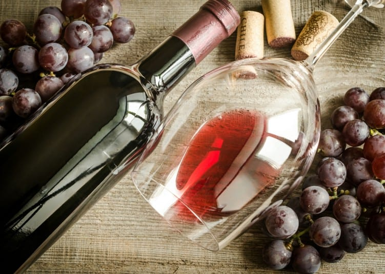 lose weight with red wine