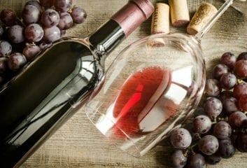 red wine grapes heart disease