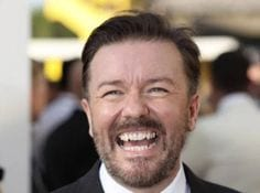 Ricky Gervais celebrity weight loss