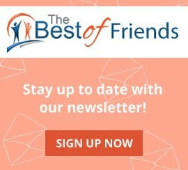 The Best of Friends - newsletter sign up