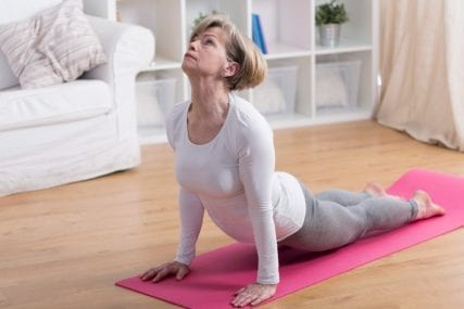 back pain yoga posture