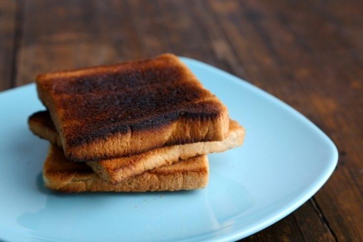 burnt toast acrylamide