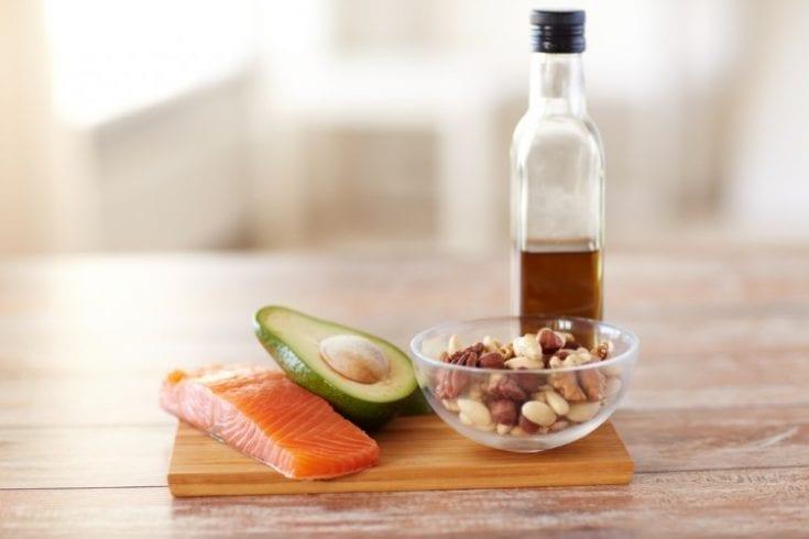 omega-3 salmon nuts