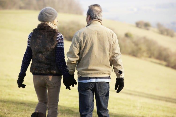 heart healthy winter walk