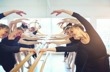 dancing ballet blood pressure